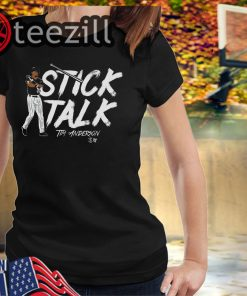 Tim Anderson Shirt - Stick Talk Chicago Tshirts