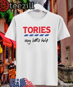 Tories Very Little Helps Billie Shirt Limited Edition Official