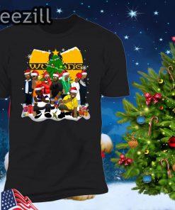 Wu Tang Clan Simpsons Santa Hat Christmas T-shirt