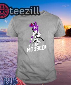 You Got Mossed Tshirt Randy Moss Over Shirts