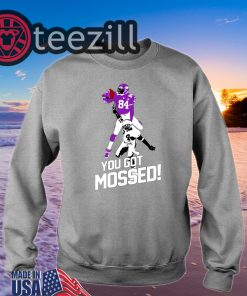 You Got Mossed Tshirt Randy Moss Over TShirt