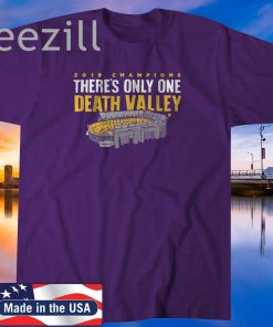 2019 Champions There's Only One Death Valley Shirt