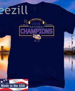 2019 National Champions LSU Tigers T-Shirt