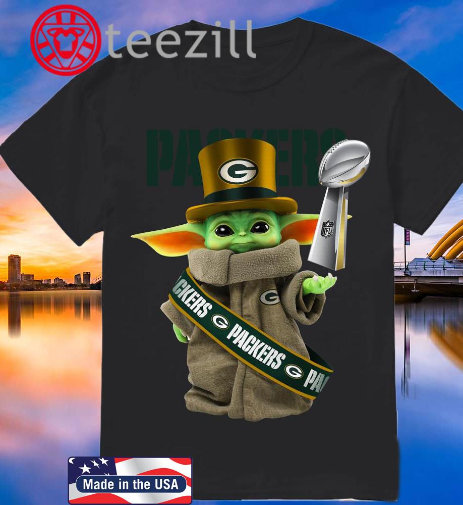 Baby Yoda Shirt Green Bay Packer Cup 2020 Tshirt Teezill