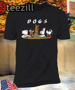 D-O-G-S - Pop Culture Dogs Shirt