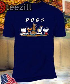 D-O-G-S - Pop Culture Dogs T-Shirt