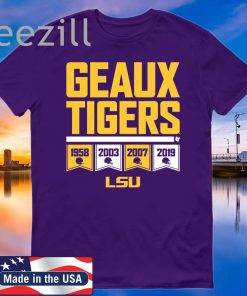 Geaux Tigers Officially LSU Licensed T-Shirt