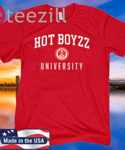 HOT BOYZZ UNIVERSITY 49ers Official T-Shirts