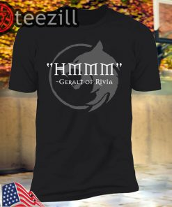 Hmmm - The Witcher T-Shirt Demonigote