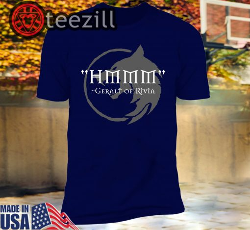 Hmmm - The Witcher T-Shirts Demonigote