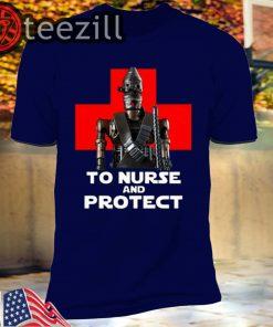 IG-11 to nurse and protect Star Wars shirt
