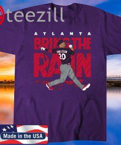 Josh Donaldson Atlanta Bring The Rain Tshirt