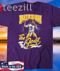 LSU Tigers Joe Burrow the Goat Game day T-shirt