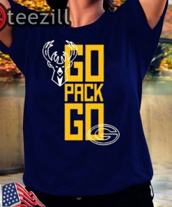 Limited Edition #GoPackGo x Milwaukee Bucks TShirt