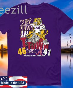 Lsu Tigers 46 Alabama Crimson Tide 41 Beat Down Shirt