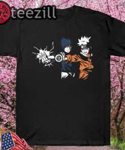 Ninja Fiction V2 - Naruto T-Shirt by Barbadifuoco