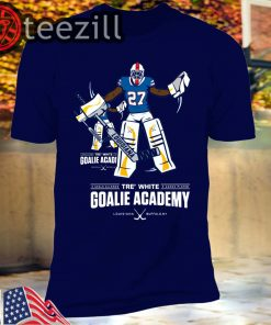 Official Tre White Goalie Academy T-shirt