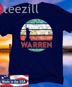 Retro Vintage Warren 2020 US President TShirt