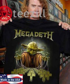 Star Wars Yoda Metallica Master of Puppets Tshirt