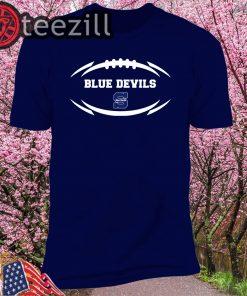 Stout Blue Devils Modern Football 2 Mascot Logo Shirts