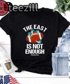 The East Is Not Enough Eagle Claw On Football Shirt