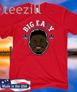 Zion Williamson Shirt - Big Eazy, NBPA Officially Licensed