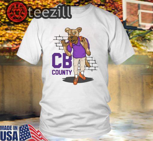"""""""CB Goon"""" White Men's State TShirt"""