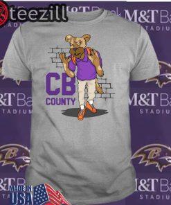 """""""CB Goon"""" White Men's State TShirts"""