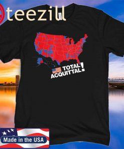 Acquittal Trump 2020 Impeachment Fail Supporter Gift T-Shirt