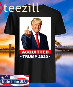 Acquitted Anti Impeachment Acquittal Shirt