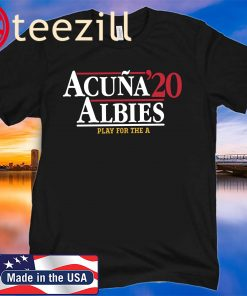 Acuña Albies 2020 Shirt, MLBPA Officially Licensed