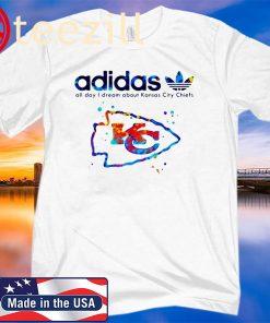Adidas All Day I Dream About Kansas City Chiefs Classic Shirt