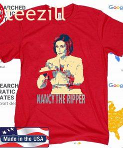 Anti Trump Nancy Pelosi The Ripper of SOTU Speech T-Shirt