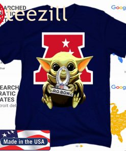 Baby Yoda Hug AFC NFL 2020 Pro Bowl Star Wars Tee Shirts