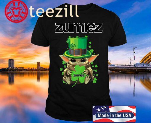 Baby Yoda Zumiez Shamrock St.Patrick's Day 2020 Shirt