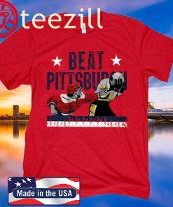 Beat Pittsburgh Washington DC Hockey Shirt