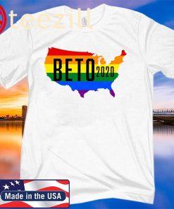 Beto 2020 LGBT Rainbow Beto O'Rourke For President Shirts