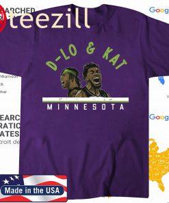 D-Lo and KAT Minnesota Basketball 2020 Shirt