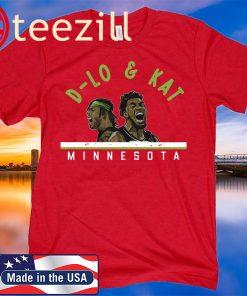 D-Lo and KAT TShirts - Minnesota Basketball - NBPA Licensed