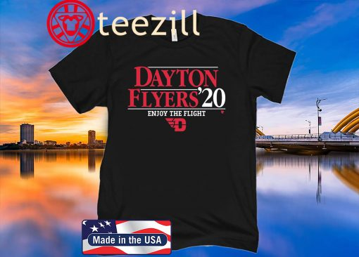 Dayton Flyers 2020 T-Shirt - Officially Licensed