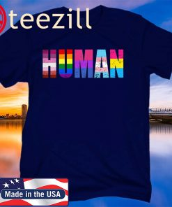 Human Flag LGBT Gay Pride Month Transgender Shirt – support gay – Lgbt 2020