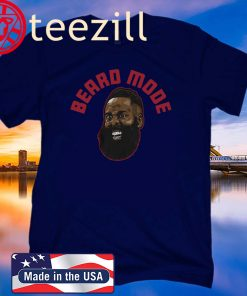 James Harden shirt, Beard Mode, Houston - NBPA OFFICIAL