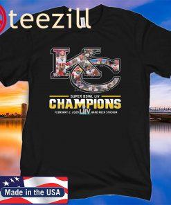 Kansas City Chiefs Super Bowl Liv Champions February 2 - 2020 TShirt