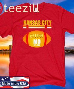 Kansas City Football Fan Missouri KC Great Top T-shirt