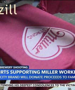 Milwaukee Brewery Shooting T-shirts Supporting Miller Workers