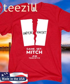 Mitch McConnell is selling Pelosi-inspired 'impeachment' shirts