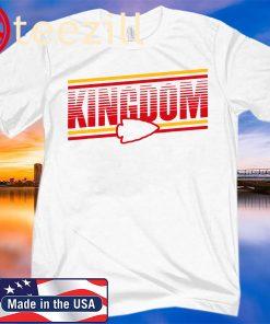 Official Kansas City KC Football Missouri Arrowhead Retro Chief White Shirts