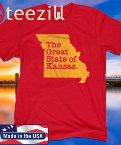 The Great State Of Kansas Shirt Limited Edition