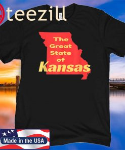 The Great State of Kansas Classic TShirt