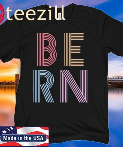 Vintage Bernie Sanders BERN 80s 90s Classic Shirt